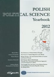 Polish Political Science Yearbook 2012,