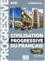 Civilisation progressive du francais intermediaire + CD MP3, Ross Steele